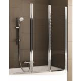 Фото 170-06992 Штора на ванну Aquaform Modern 3 120x140 transp|chrome