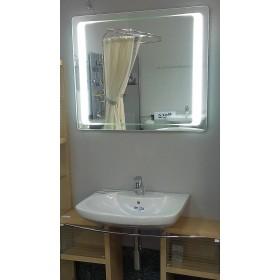 Фото 2 Зеркало Liberta GATI 800х700 с LED-подсветкой