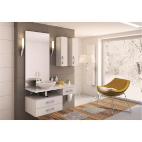 Фото 2 0409-660101 Зеркало вертикальное Aquaform FLORES 60