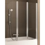 Фото 170-06956 Штора на ванну Aquaform Modern 3 120x140 transp|satin