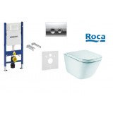 Фото Инсталляционный комплект Geberit Duofix + Roca Gap Softclose
