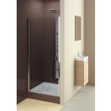 Фото 103-06367 Душевая дверь Aquaform GLASS 5 80 левая, Transparent DP Active