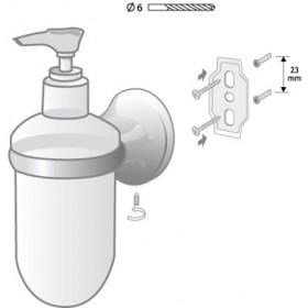 Фото 1 00209 Ontario дозатор для жидкого мыла
