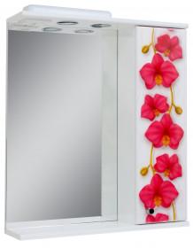 Фото Дз0160 Зеркало 60 Орхидея (правое)