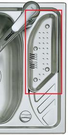 Фото Коландер для сушки к кухонной мойке TEKA TEXINA (86823)