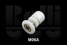 Фото Ролик для душевой кабины одинарний M06A (d.22 мм)