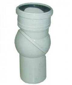 Фото Колено для унитаза Waterstal WC Шар