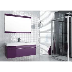 Фото 2 0409-542811 Зеркало Aquaform Decora 70 Фиолет