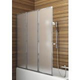 Фото 170-04000 Штора для ванны Aquaform Standart-3 120х140 см. Каркас - сатин