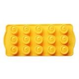 Фото Форма для шоколада силикон Vincent 21х10.8х1.7см VC-1388
