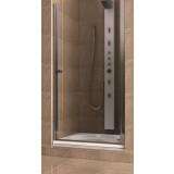 Фото 103-05556 Душевая дверь в нишу Aquaform SILVA 80 левая