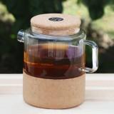 Фото Чайник для чая на подставке из корка Showroom SR30010K1