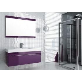 Фото 1 0409-542813 Зеркало Aquaform Decora 120 Фиолет