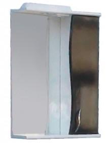 Фото Зеркало со шкафчиком З-1 60 Black (прав.)