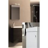 Фото 0401-250103 Комплект: Тумба с умыв. + зеркало Aquaform ATLANTA 40