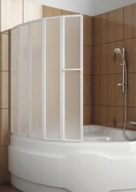 Фото 170-31454 Штора для ванны Aquaform Novum-5 120х140 см