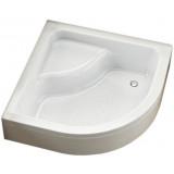 Фото 200-18607 Поддон акриловый Aquaform PLUS 550 (26) 80 с/сиденьем