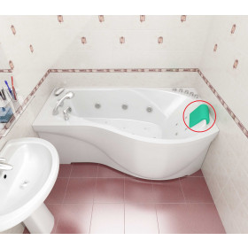 """Фото 1 Подголовник """"Комфорт"""" для ванн Triton"""