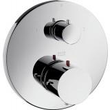 Фото Внешняя часть встр.смесителя для ванны/душа Starck термостат (10720000)