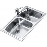 Фото Мойка кухонная TEKA CLASSIC 80 2B 800х500 декор. (11119055)