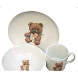 Фото Набор для детей Cmielow Teddy Bear 3пр 6503T06E2B123