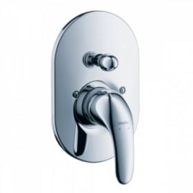 Фото Внешняя часть встр.смесителя для ванны/душа Hansgrohe Focus Е (31745000)