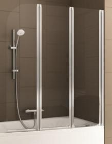 Фото 170-06956 Штора на ванну Aquaform Modern 3 120x140 transp satin