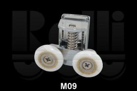 Фото Ролик для душевой кабины двойной М09 (d.23 мм) нижний